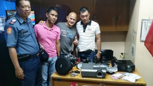 Awesome team of SPO3 John (investigator) and Captain Petito Reyes.