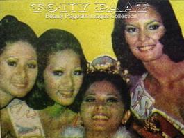 My mom leftmost, Mutya ng Pilipinas - Mindanao