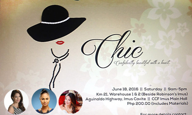 Chic: Confidently Beautiful with a heart