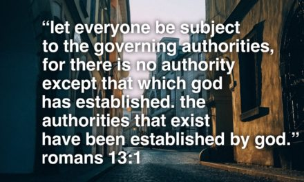 On Submission to authorities…